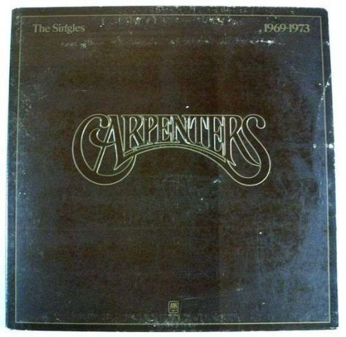 THE CARPENTERS ~ The Singles 1969-1973 1973 Pop LP