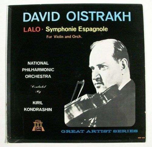 DAVID OISTRAKH ~ Lalo - Symphonie Espagnole Op. 21 LP