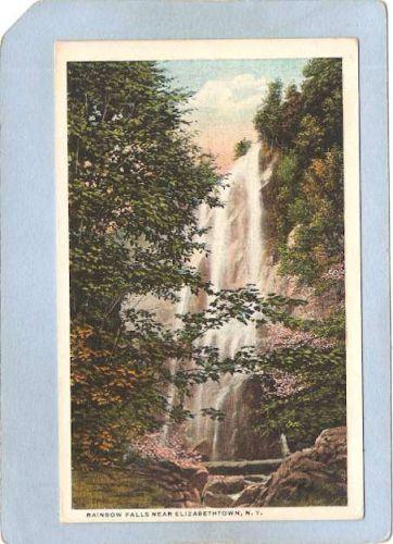 New York Elizabethtown Rainbow Falls Near Elizabethtown ny_box5~1543
