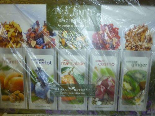 NEW Tea Forte Single Steeps Herbal Tea - 15 Pack exp 2016