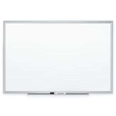 Standard Melamine Dry Erase Boards 4x3 Feet Aluminum Frame Classroom Whiteboard