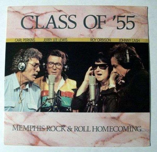 CLASS OF '55 ~ Perkins / Cash / Orbison / Lewis 1986 Re-Union LP