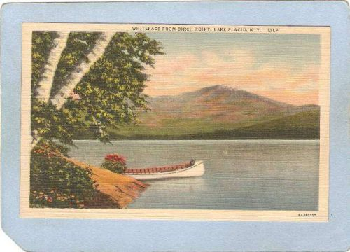 New York Lake Placid Whiteface From Birch Point ny_box5~1721