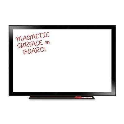 24 Inchx36 Inch Black Aluminum Framed Magnetic Dry Erase Board Whiteboard Marker