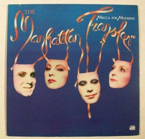 "The MANHATTAN TRANSFER "" Mecca For Moderns "" 1981 Pop LP"