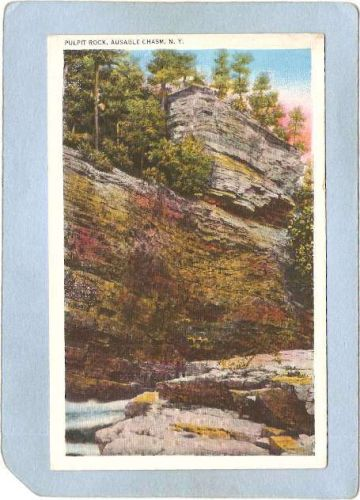 New York Ausable Chasm Pulpit Rock ny_box5~1506