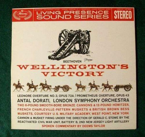 BEETHOVEN ~ Wellington's Victory Leonore / Prometheus Overtures Donati LP