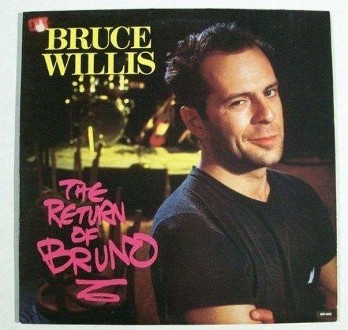 BRUCE WILLIS ~ The Return Of Bruno 1987 Pop LP