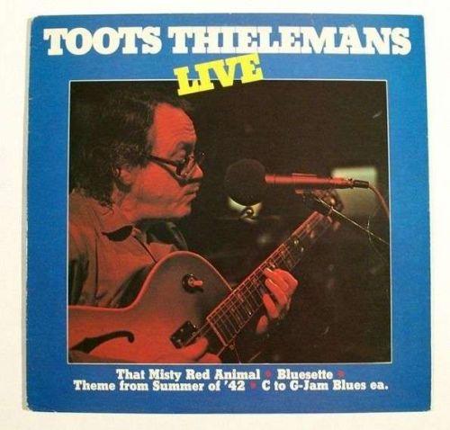 TOOTS THIELEMANS ~ Toots Thielemans / Live 1982 Jazz LP