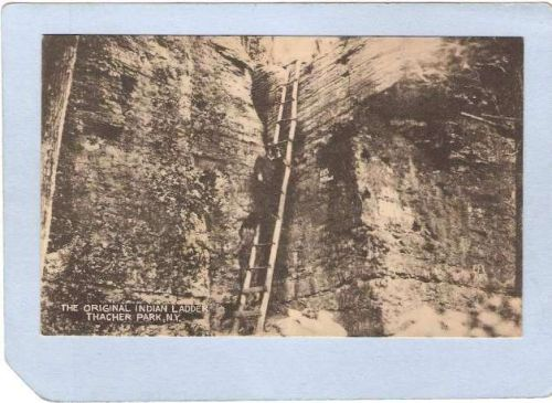 New York Thacher Park The Original Indian Ladder ny_box2~319