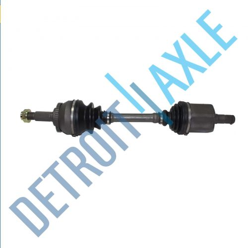 Complete Front DriverSide CV Axle Shaft - Automatic w/ ABS - Made in USA