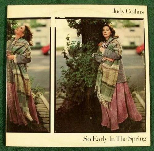 """JUDY COLLINS """" So Early In The Spring """" 1977 DOUBLE Pop LP"""