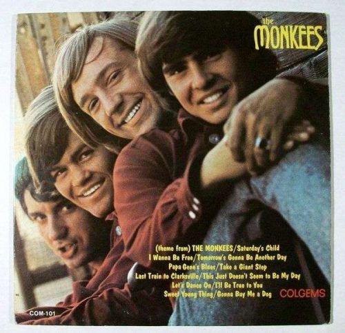 """MONKEES """" The Monkees """" 1966 Rock LP"""