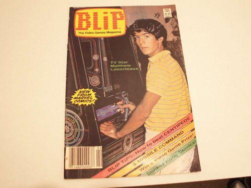Blip The Video Games Magazine - Feb 1983 Issue #1