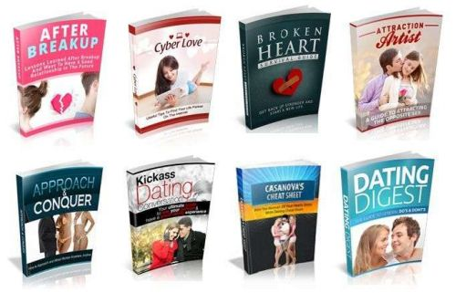 100 Dating & Relationship Ebooks With Master Resell Rights