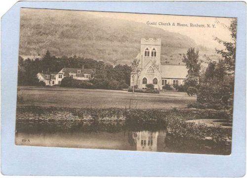 New York Roxbury Gould Church & House ny_box3~1293