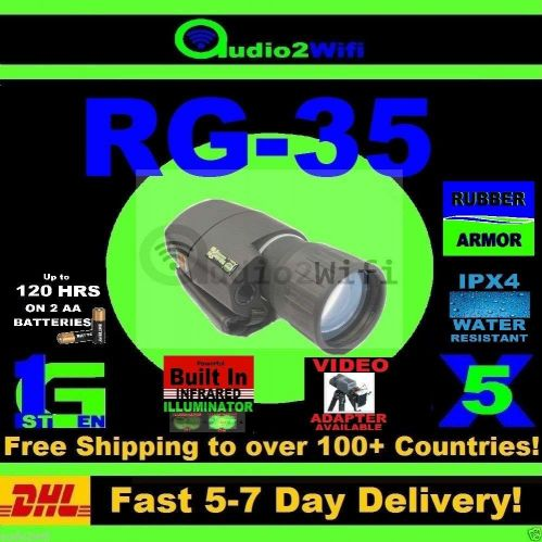 NEW RG-35 5X50 NIGHTVISION IR MONOCULAR BINOCULARS RIFLE SCOPE INFRARED HUNTING