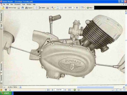 ZUNDAPP 2 STROKE ENGINE MANUAL - Bella Norma Comfort Motorcycle Repair & Service