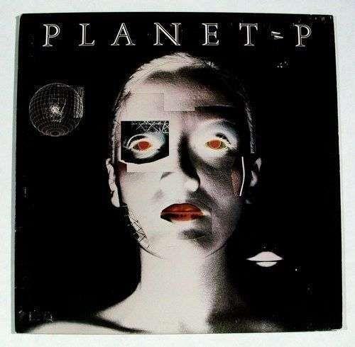"""PLANET P PROJECT """" Planet P """" 1983 Prog Rock LP"""