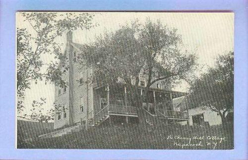 New York Napanuch The Cherry Hill Cottage Black & White Photo Type View La~277