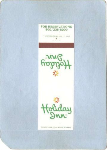 New York Lake Placid Matchcover Holiday Inn ny_box5~1652