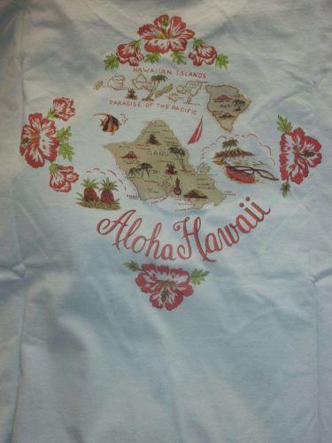 NAUTICA nautica Man T-shirt Size XL Hawaii