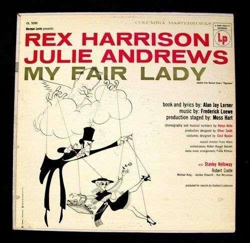 MY FAIR LADY 1956 Soundtrack LP