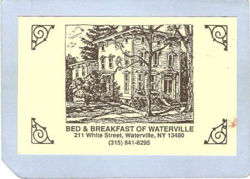 New York Waterville Bed & Breakfast Of Waterville 211 White Street Adverti~1320