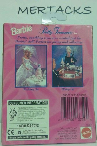 """Barbie Accessories Pack-Brand NEW Never Opened """"Vintage"""" Collectable"""
