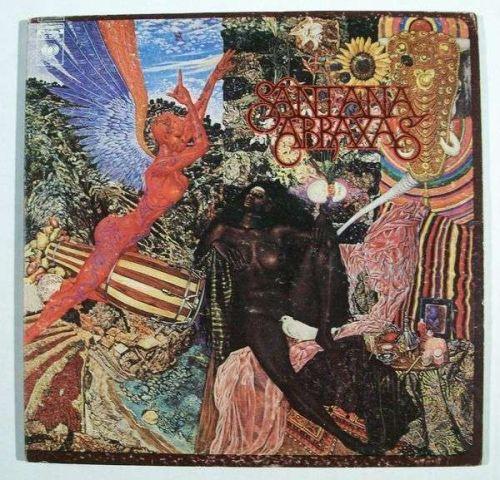 SANTANA ~ Abraxas 1970 Rock LP