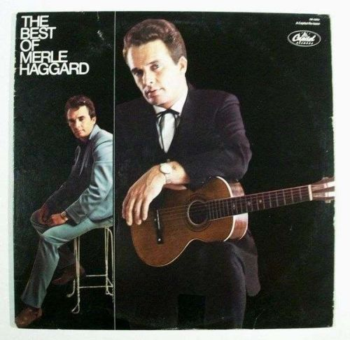 MERLE HAGGARD ~ The Best of Merle Haggard 1979 Country LP