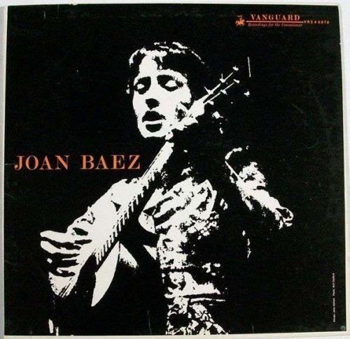 """JOAN BAEZ ~ """" Joan Baez """" 1960 Folk/Pop LP"""