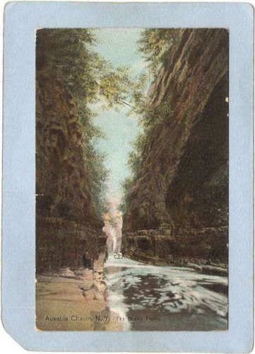New York Ausable Chasm The Grand Flume ny_box5~1444