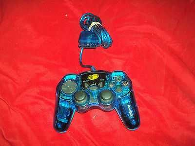 PLAYSTATION 1 & 2 CONTROLLER MAD CATZ DUAL FORCE MODEL 8016 VG CONDITION