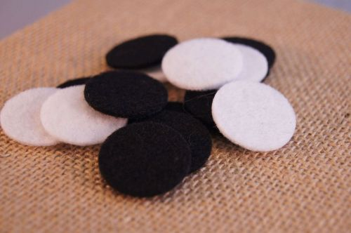 Large Round Replacement Pads for Diffusing Mama's Essential Oils Aromatherapy Lockets