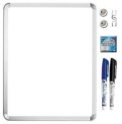 Metalix Magnetic Dry Erase Value Pack 11x14 Inches 45016UAT 18 Whiteboard Marker