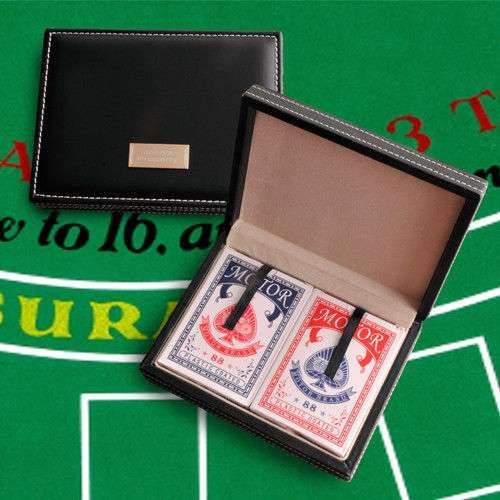 Card Sharks Playing Card Case - Free Personalization