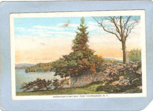 New York Fort Ticonderoga Grenadier's Battery ny_box5~1589