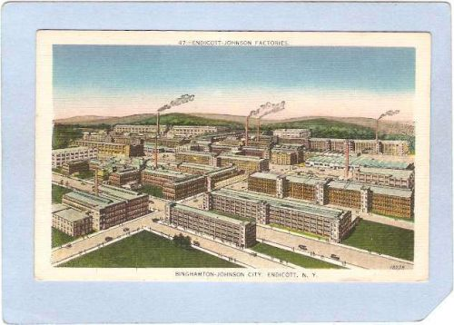New York Endicott Endicott Johnson Factories ny_box2~635