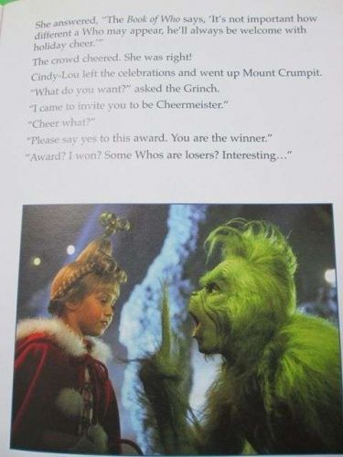 Picture of Movie How the Grinch Stole Christmas Dr.Seuss Tale Eng.Book 32 pages