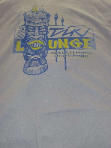 NWT MENS SADDLEBRED COTTON TEE XL TIKI LOUNGE