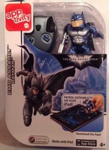 Batman The Dark Knight Rises Apptivity EMP Assault Batman Game - NEW! iPad Fun!