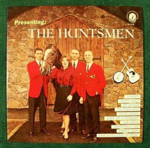 THE HUNTSMEN ~ Presenting The Huntsmen 1961 Pop LP