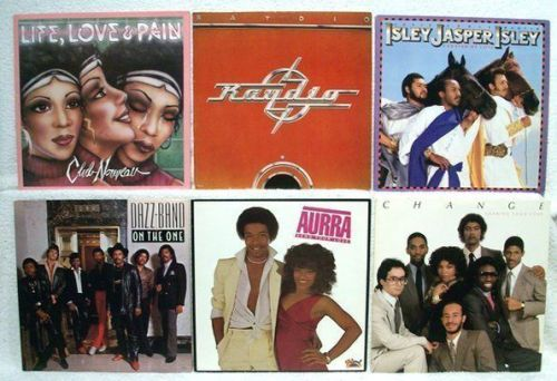 R&B / FUNK GROUPS ~ Lot # 1 of ( 6 ) LPs