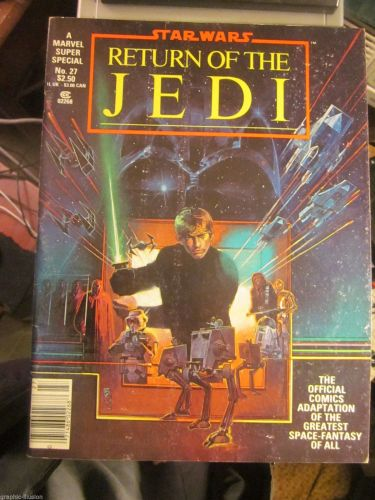 STAR WARS RETURN OF THE JEDI Marvel Super Special #27 Al Williamson Magazine