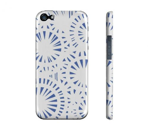 Strouth Blue White Iphone 5/5S Phone Case