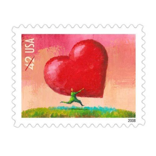 2008 42c All Heart Love, Special Issue Scott 4270 Mint F/VF NH