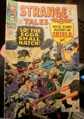 Strange Tales #164 Nick Fury SHIELD Steranko,1968, Dr. Strange / Dan Adkins ART