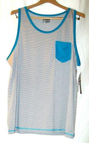 NWT men's, sz. XXL, INC, multi-colored, sleeveless, tank top