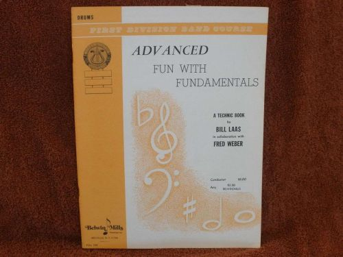 Advanced Fun with Fundamentals - Book 3 - Drums